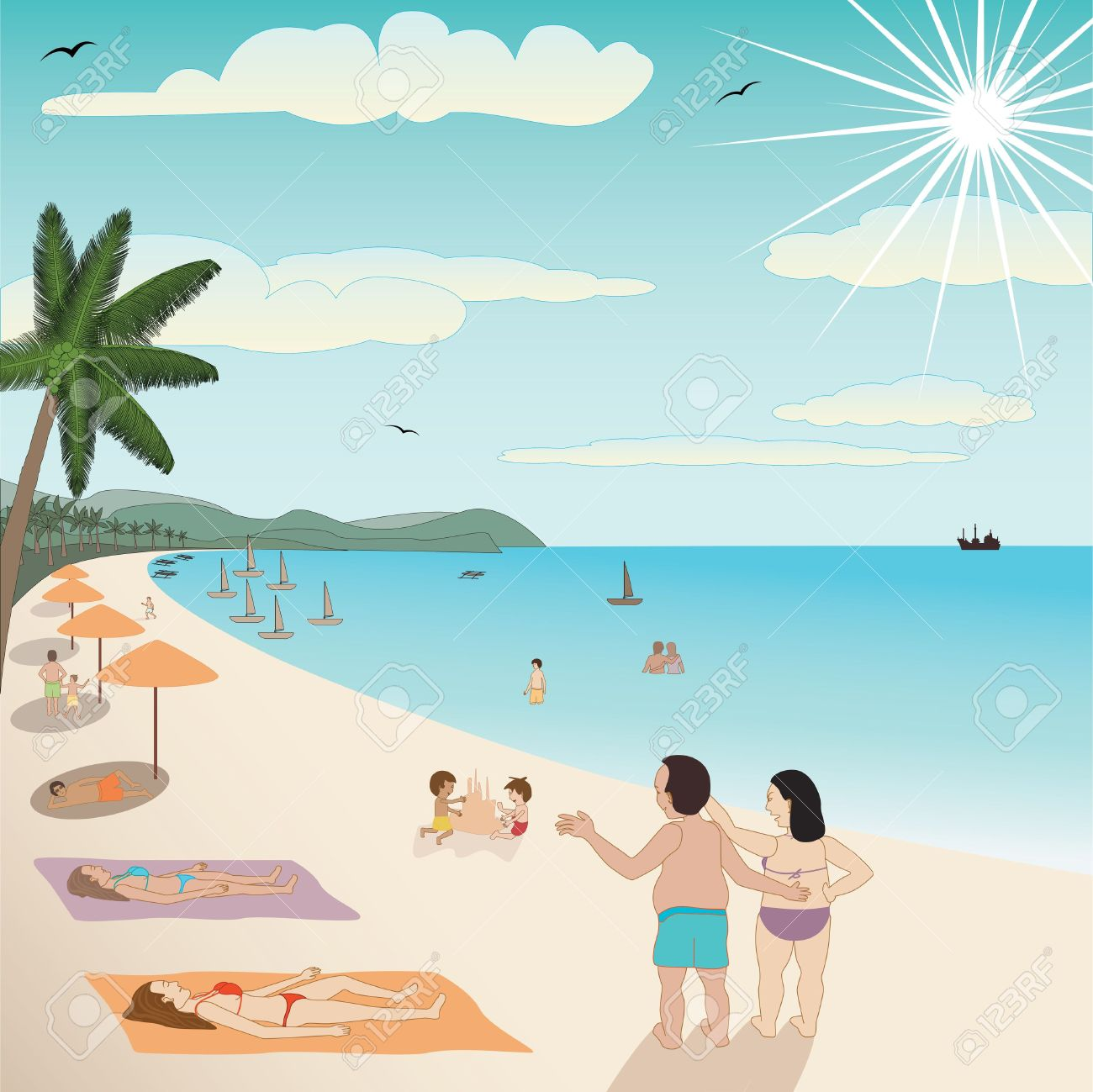 Free Summer People Cliparts, Download Free Clip Art, Free.