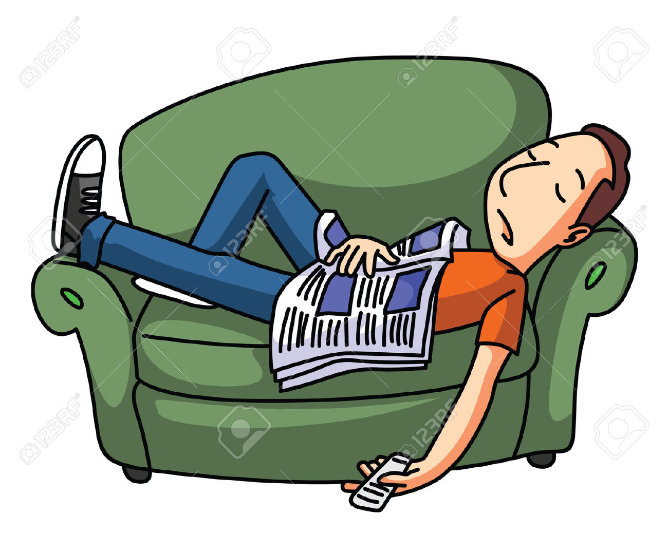 People Being Lazy Clipart Clipground