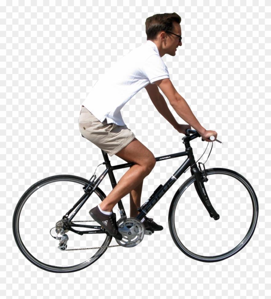 Clip Art Bike Transparent Male.