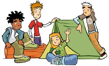 Camping clipart free clipart images 5.