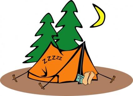 Camping Vector.