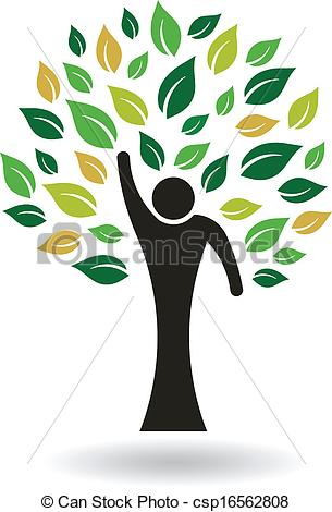 People Tree Clipart.
