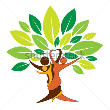 Clipart Tree People.