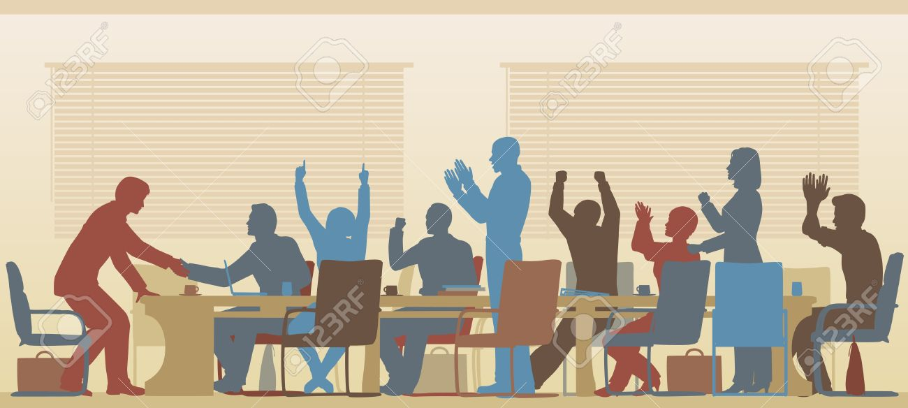 2,293 People Clapping Stock Vector Illustration And Royalty Free.