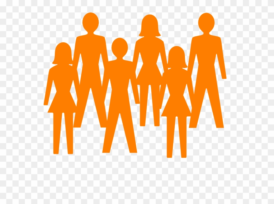 Group Of People Clipart Transparent Background.