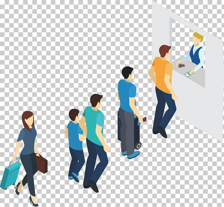 Computer file, Line up people PNG clipart.