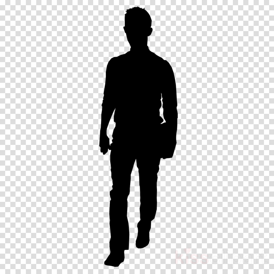 people silhouette from back clipart Silhouette Clip art.