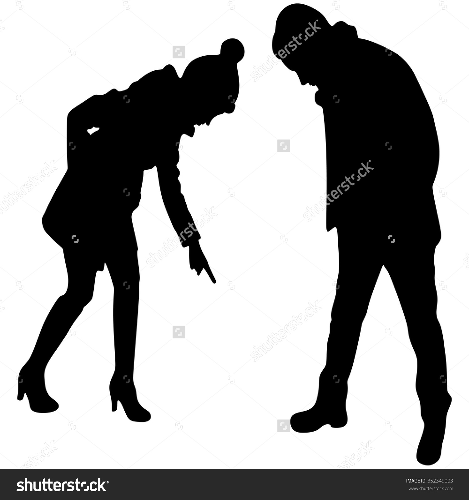 Person Looking Down Clipart (64+).