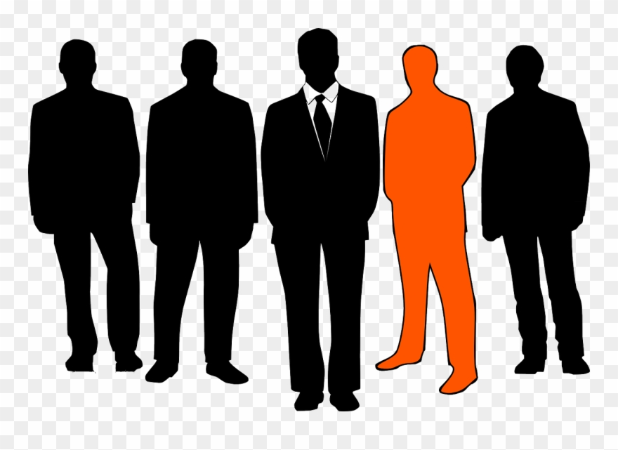 People Clipart Silhouette Transparent.