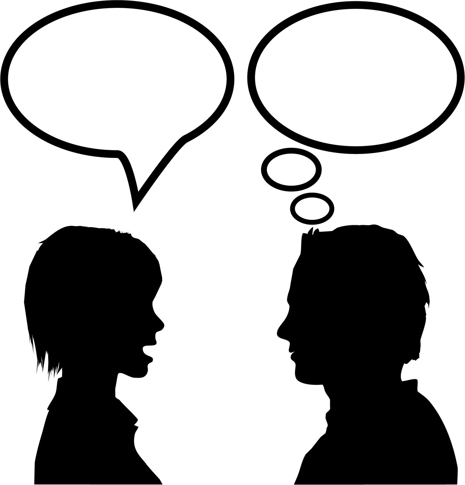 People communicating clipart 4 » Clipart Portal.