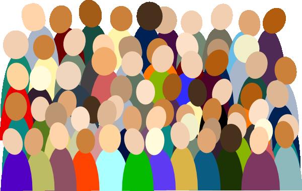 Smaller Crowd Rdc Color Clip Art at Clker.com.
