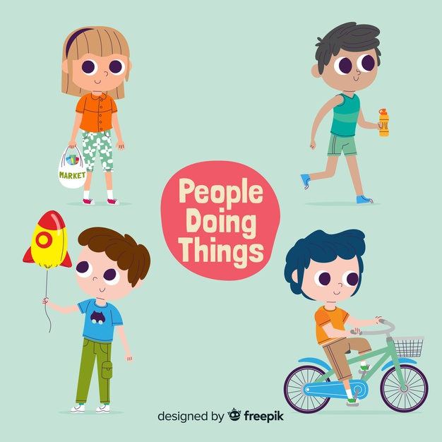 People doing things Vector.