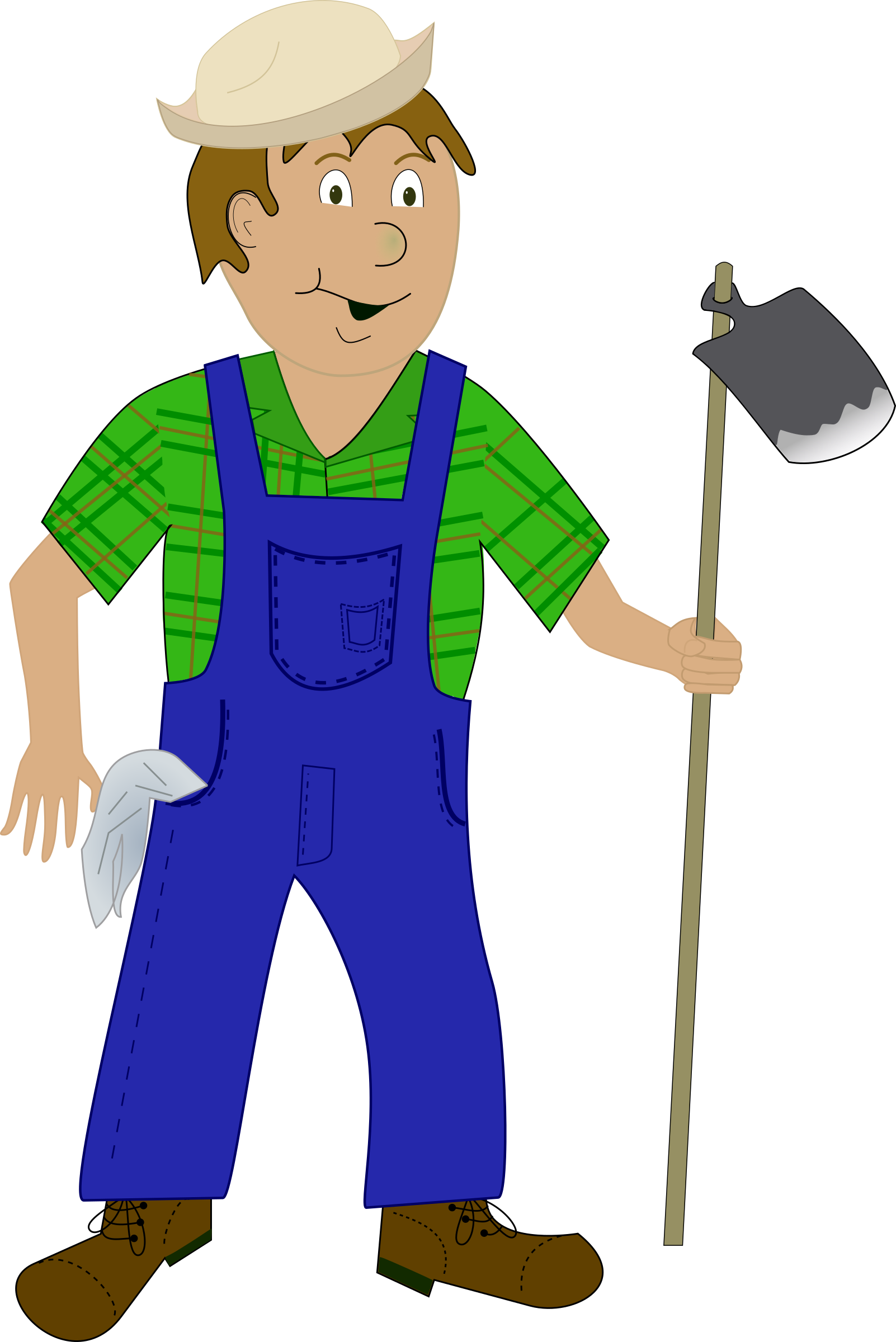 People clipart farmer, People farmer Transparent FREE for.