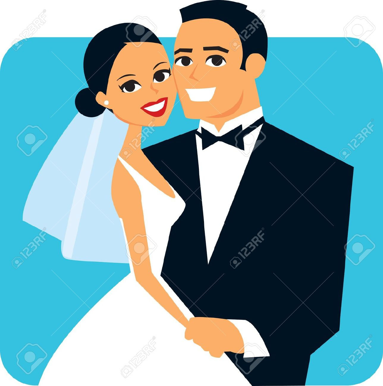 Getting Married Clipart.