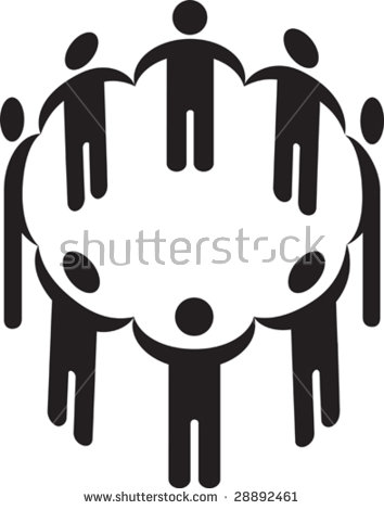 People Holding Hands Circle Stock Images, Royalty.