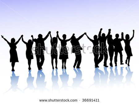 Group Of People Holding Hands Stock Images, Royalty.
