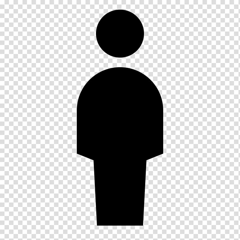 Silhouette Person , people icon transparent background PNG.