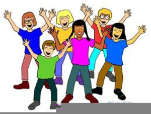 Outgoing People Clipart.