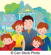 People house clipart.