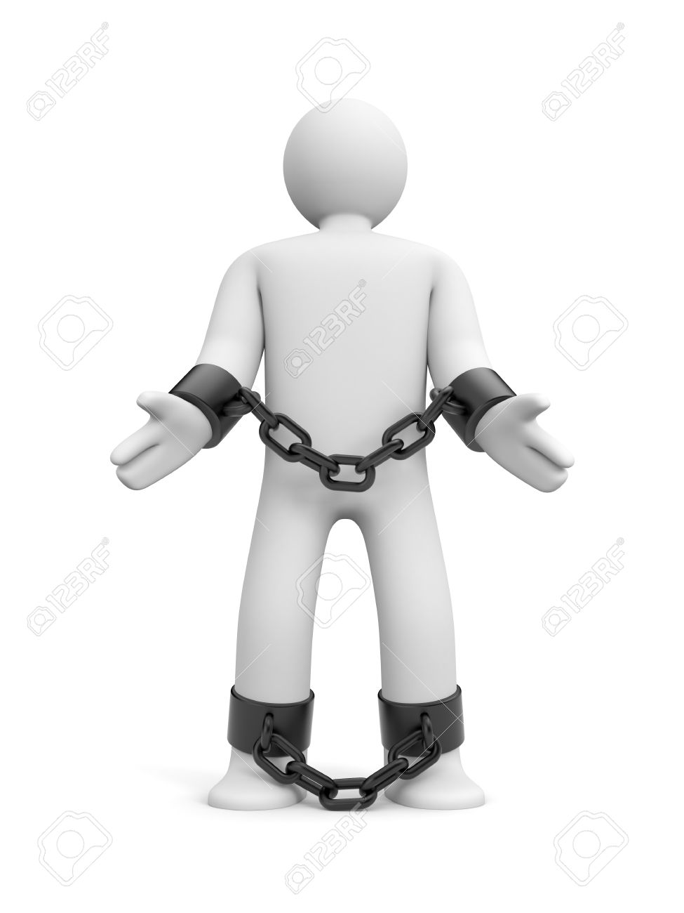 people in chains clipart - Clipground