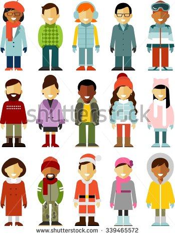 Winter Coat Stock Images, Royalty.