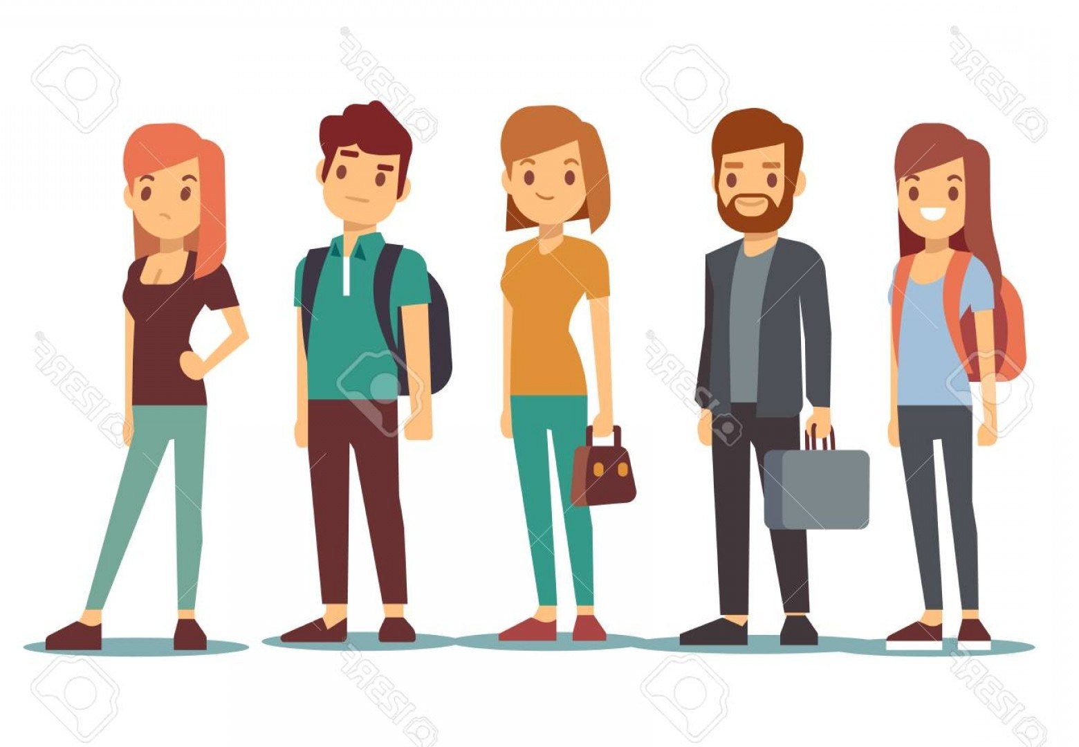 People waiting in line clipart 9 » Clipart Portal.