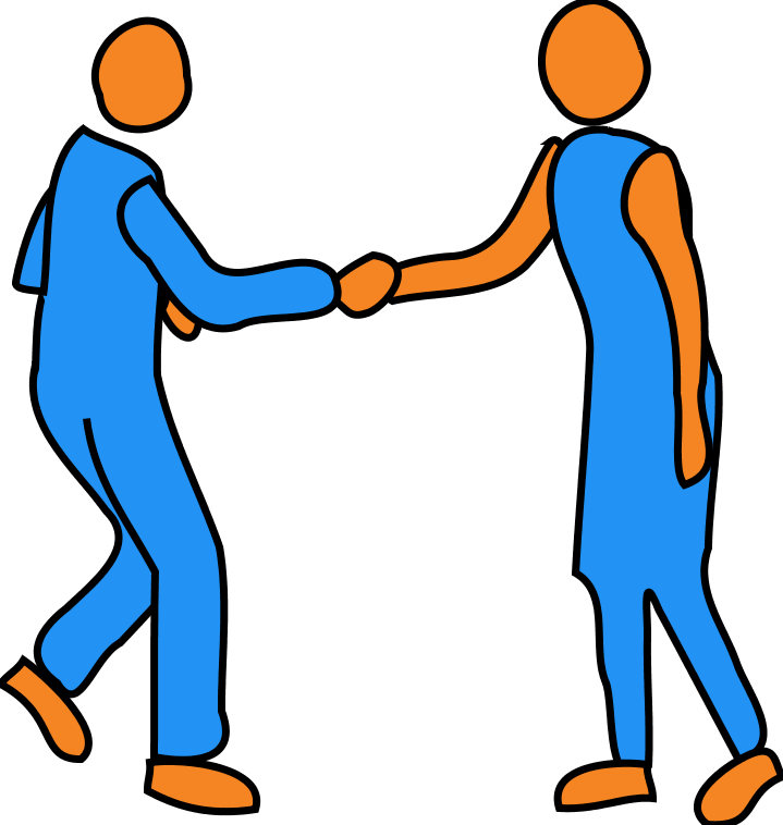 People Interacting Clipart.