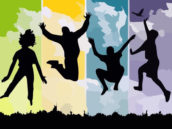 Jumping Clip Art at Clker.com.