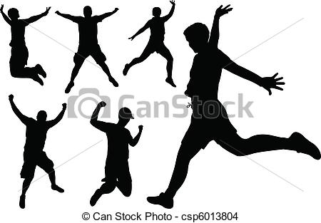 People jumping Clipart and Stock Illustrations. 30,410 People.