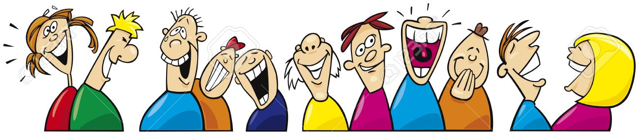 Laughing People Clipart.