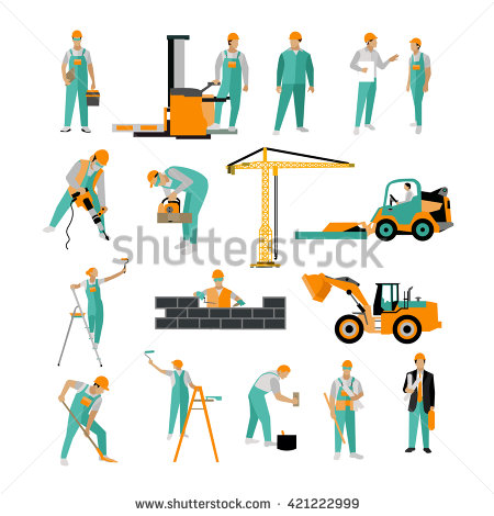 Workers Stock Images, Royalty.
