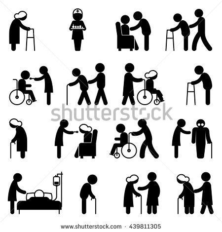 Caring People Stock Images, Royalty.