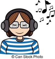 Listening music Illustrations and Clipart. 28,183 Listening music.