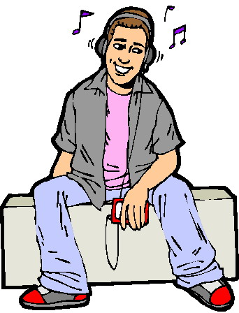Listening To Music Clipart & Listening To Music Clip Art Images.