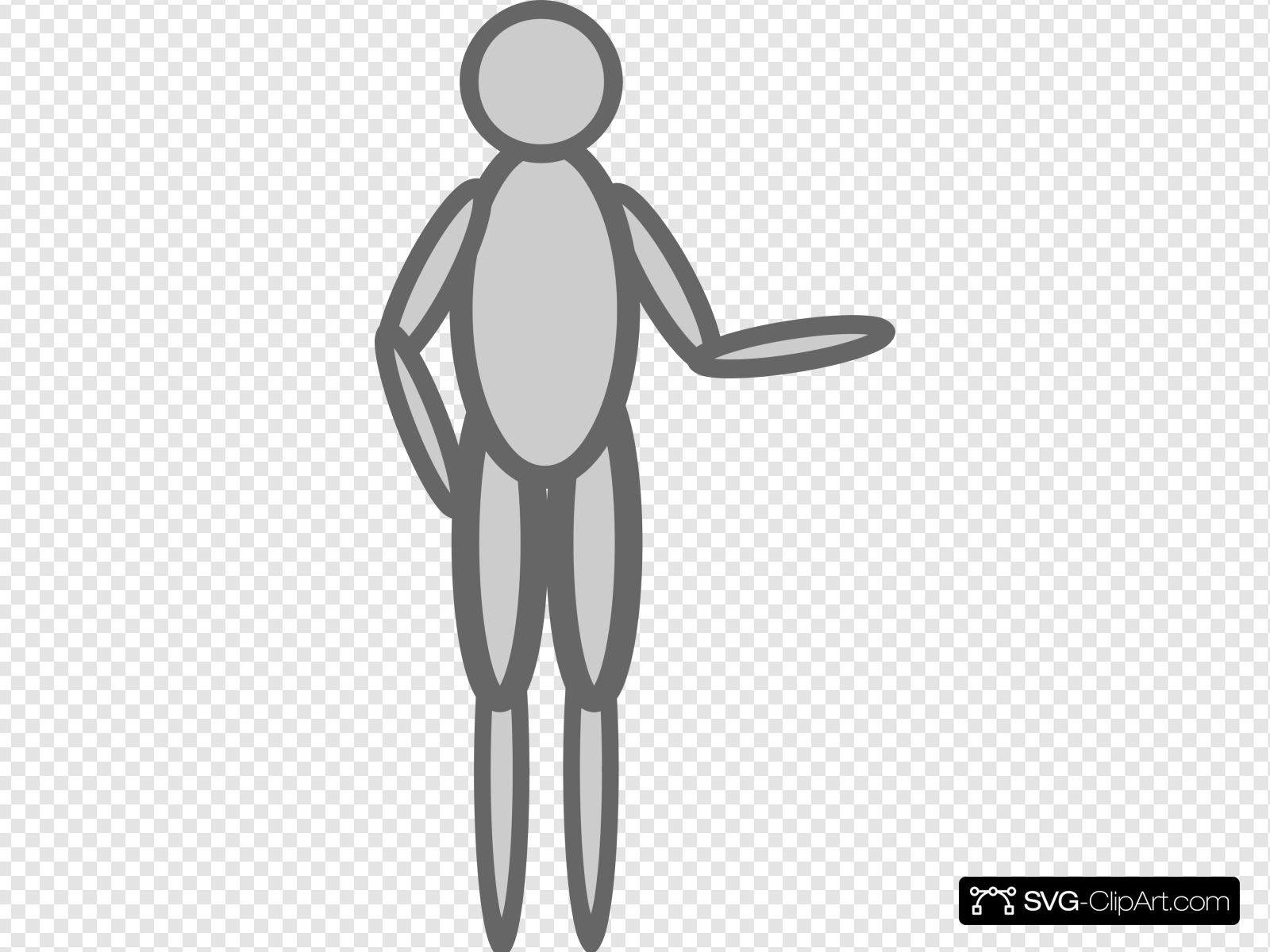 Person With Hands Down Clip art, Icon and SVG.