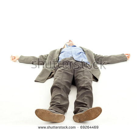 Person Lying Down Stock Images, Royalty.
