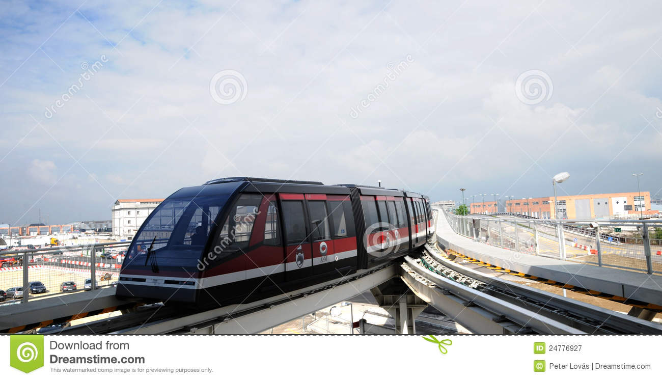 People Mover In Venice Editorial Photography.