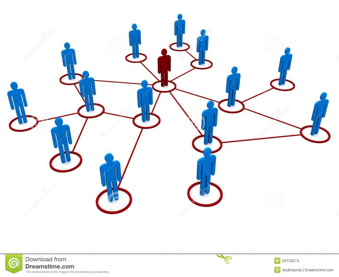 People Network Clipart.