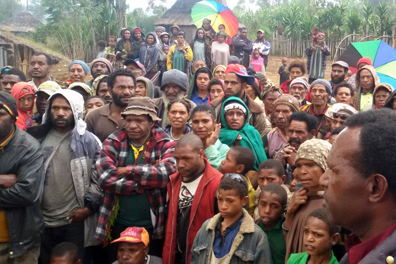 El Nino Affects a Million People in PNG Highlands.