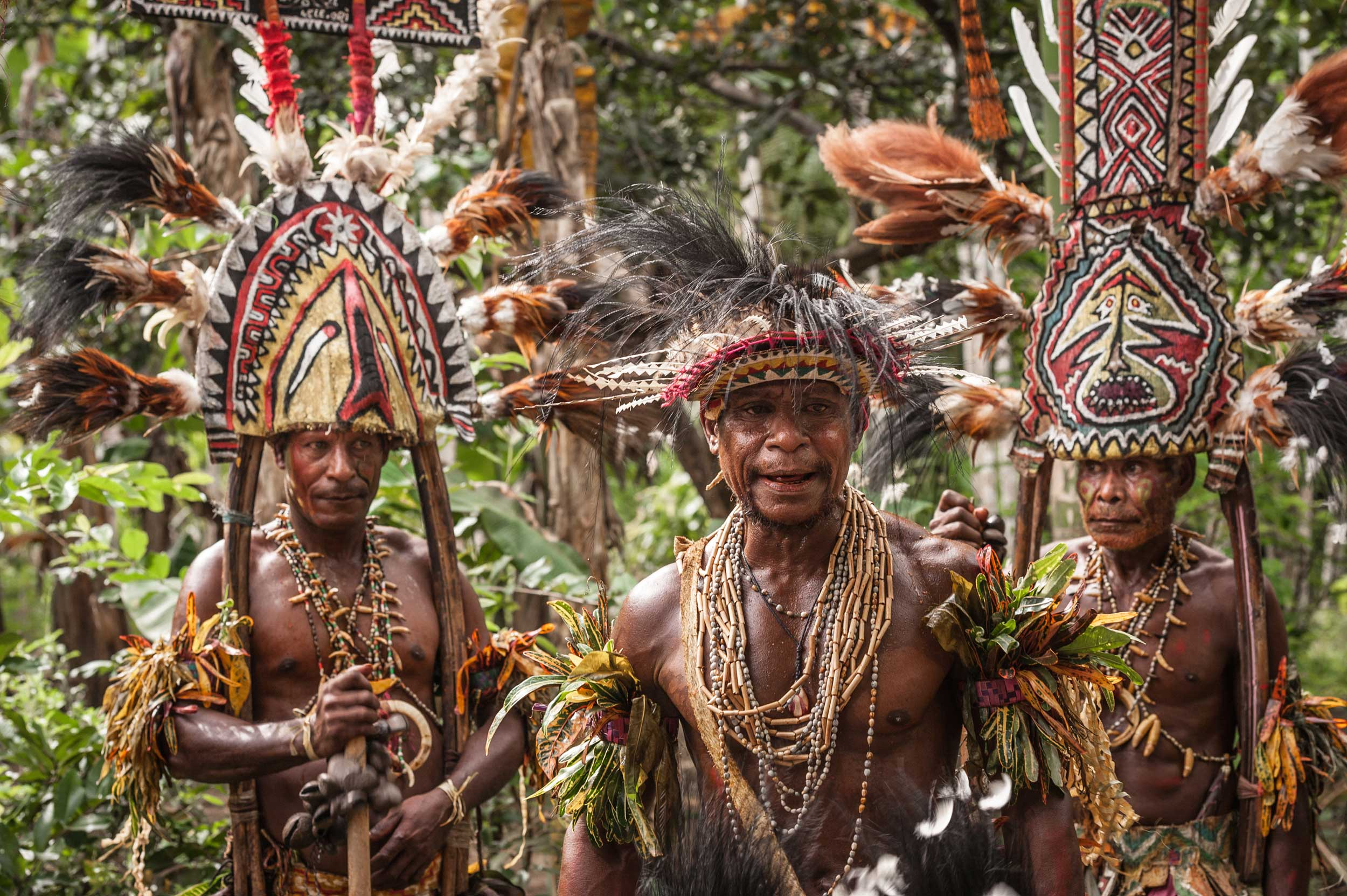 Tribal Papua New Guinea.