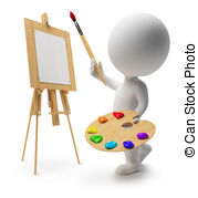 Painter Clipart and Stock Illustrations. 1,194,724 Painter.