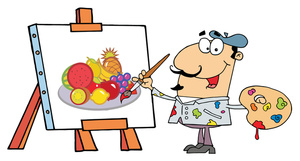 Free Painter Clipart Image 0521.