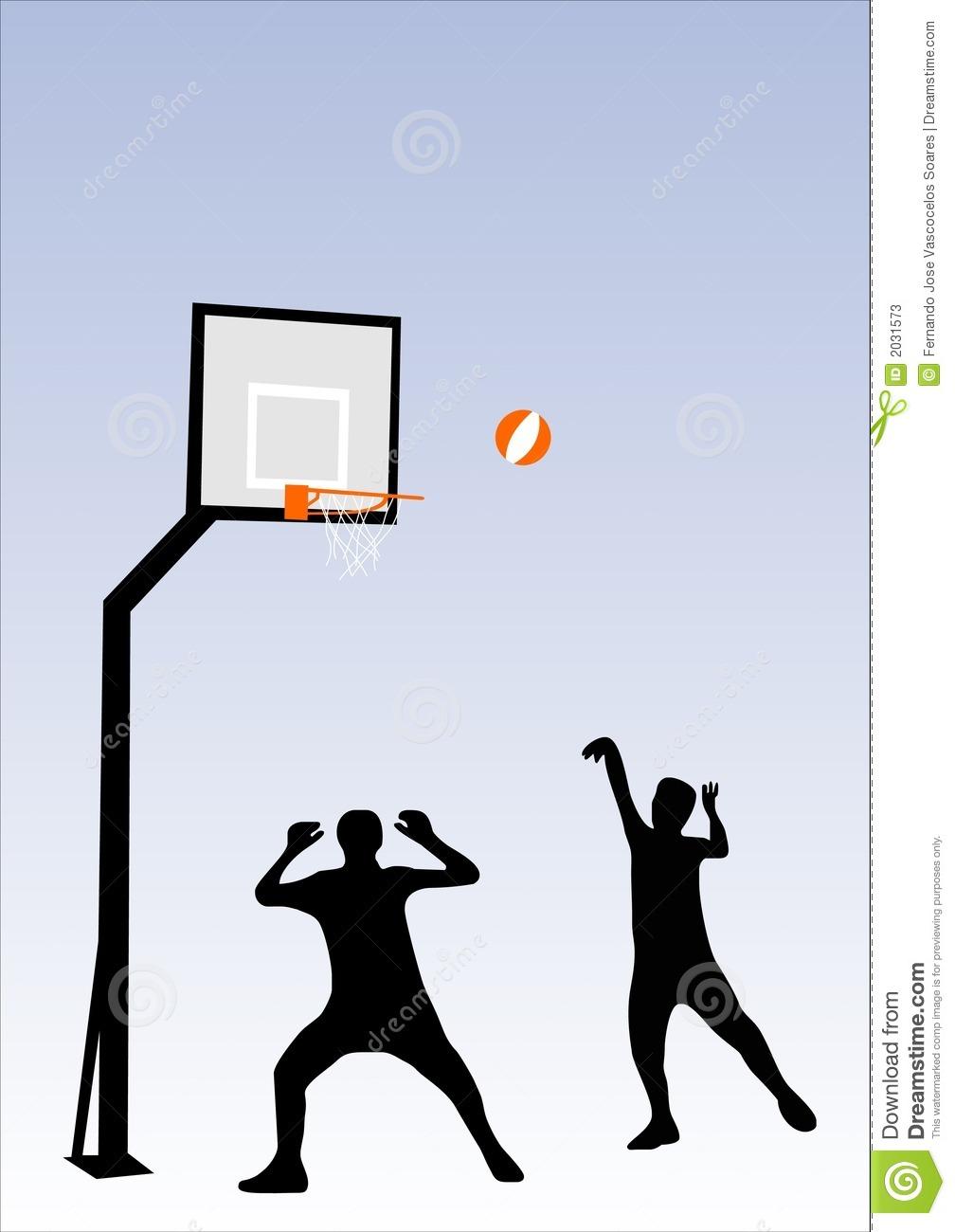 People Playing Basketball Stock Photos.