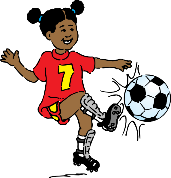 People Playing Sports Clipart.