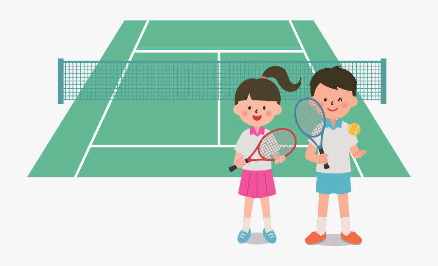 Clip Art People Playing Tennis Clipart.