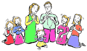 Family praying together clipart clipart images gallery for.