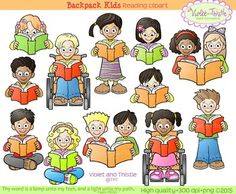 Differently Abled Children Clip Art.