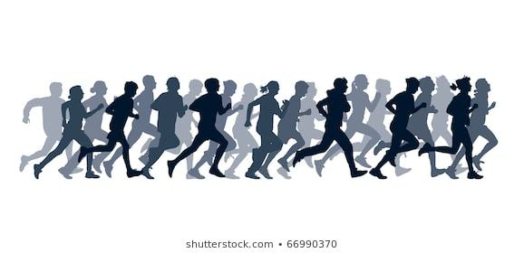 Group of people running clipart 4 » Clipart Portal.