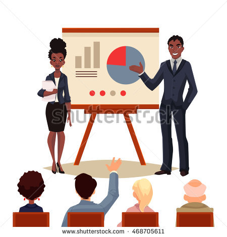 Successful African American Woman Stock Vectors, Images & Vector.