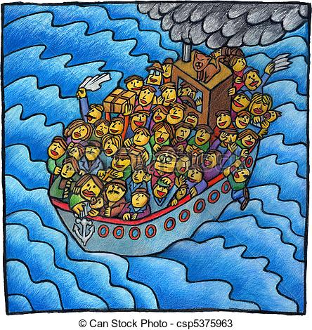 Immigrant Ship Clipart.